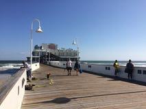 Embarcadero de Daytona Beach Foto de archivo libre de regalías