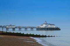 Embarcadero de Eastbourne Foto de archivo libre de regalías