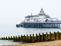 Embarcadero de Eastbourne Imagen de archivo