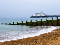 Embarcadero de Eastbourne Fotos de archivo