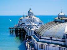 Embarcadero de Eastbourne Fotografía de archivo libre de regalías