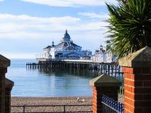 Embarcadero de Eastbourne Fotografía de archivo