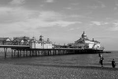 Embarcadero de Eastbourne Foto de archivo