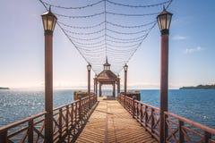 Embarcadero de Frutillar - Frutillar, Chile fotos de archivo libres de regalías