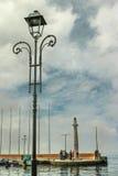 Embarcadero de Garda, Italia Fotografía de archivo libre de regalías