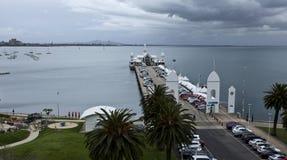 Embarcadero de Geelong Fotos de archivo