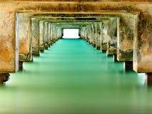 Embarcadero de Hanalei Foto de archivo libre de regalías