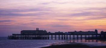 Embarcadero de Hastings Imagenes de archivo