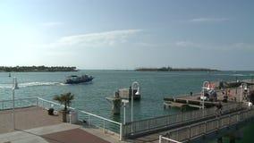 Embarcadero de Key West - lapso de tiempo almacen de metraje de vídeo