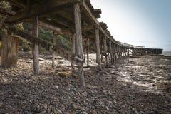 Embarcadero de la bahía de los catetos Foto de archivo libre de regalías