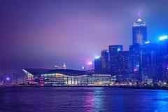 Embarcadero de la central de Hong-Kong imágenes de archivo libres de regalías