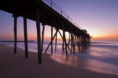 Embarcadero de la mañana Imagen de archivo libre de regalías