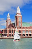 Embarcadero de la marina de Chicago Imagenes de archivo