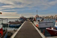 Embarcadero de la pesca Imágenes de archivo libres de regalías