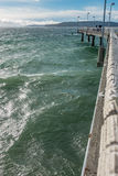 Embarcadero 2 de la pesca de Des Moines Imagen de archivo