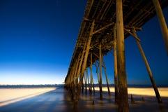 Embarcadero de la playa de Kure Fotografía de archivo