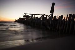 Embarcadero de la ruina Imagen de archivo libre de regalías