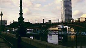 Embarcadero de Londres Lambeth almacen de video