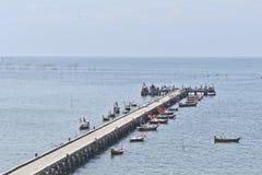 Embarcadero de los pescados Imagen de archivo