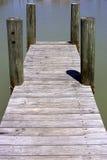 Embarcadero de madera Fotografía de archivo