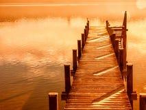 Embarcadero de madera 207 Imagen de archivo