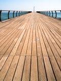 Embarcadero de madera Fotos de archivo