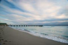 Embarcadero de Miami Imagen de archivo libre de regalías