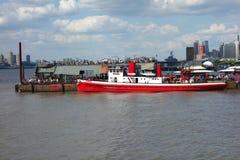 Embarcadero de New York City Foto de archivo