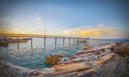 Embarcadero de Nightcliff, Territorio del Norte, Australia Foto de archivo