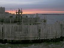 Embarcadero de Nueva York fotografía de archivo libre de regalías