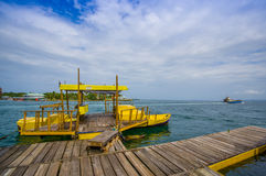 Embarcadero de Panamá Imagen de archivo