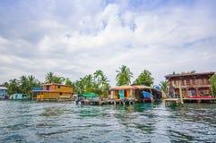 Embarcadero de Panamá Imágenes de archivo libres de regalías