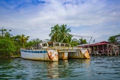 Embarcadero de Panamá Fotos de archivo libres de regalías