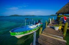 Embarcadero de Panamá Foto de archivo libre de regalías
