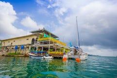 Embarcadero de Panamá Fotografía de archivo libre de regalías