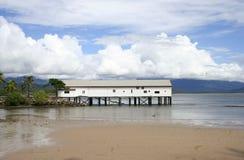 Embarcadero de Port Douglas, Queensland Australia imagen de archivo libre de regalías