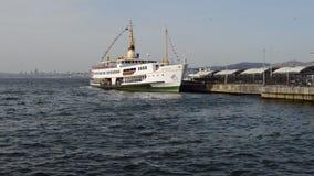 Embarcadero de princesa Island de Buyukada E almacen de video