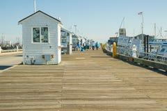 Embarcadero de Provincetown Imágenes de archivo libres de regalías