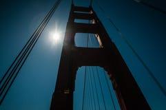 Embarcadero de puente Golden Gate Imagen de archivo libre de regalías