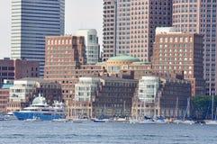Embarcadero de Rowes, Boston, los E.E.U.U. foto de archivo libre de regalías