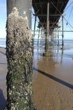 Embarcadero de Saltburn Imagenes de archivo
