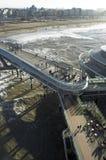 Embarcadero de Scheveningen Fotografía de archivo libre de regalías