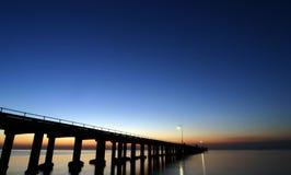 Embarcadero de Sorento - Australia imagen de archivo
