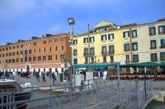 Embarcadero de Venecia Imagen de archivo