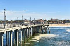 Embarcadero del Huntington Beach Imagen de archivo