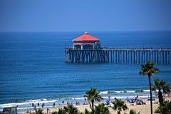 Embarcadero del Huntington Beach imagenes de archivo