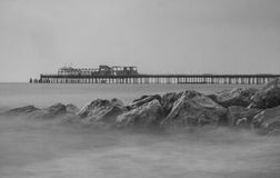 Embarcadero del mar Imagenes de archivo