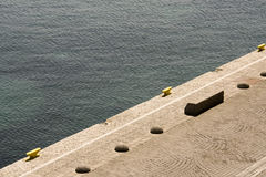 Embarcadero del Mar Egeo foto de archivo