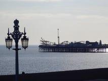 Embarcadero del oeste, Brighton fotografía de archivo