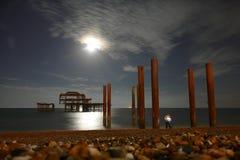 Embarcadero del oeste, Brighton Imagenes de archivo